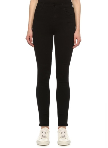 J Brand J Brand 101601580 Skinny Fit Maria Yüksek Bel Jean Kadın Pantolon Siyah
